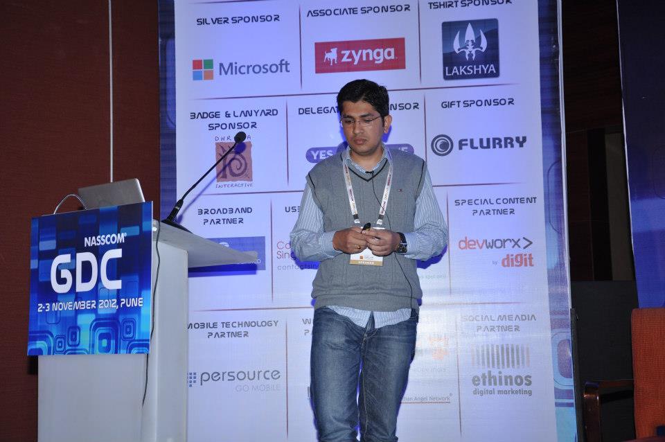 2012-11-02 - NASSCOM GDC 2012 Talk
